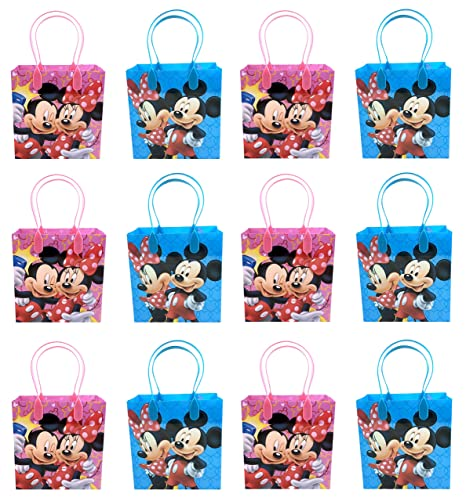 Mickey and Minnie Mouse Goodie Bags 24 Pieces
