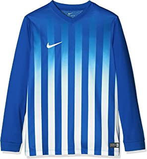 34b0afc8d Nike Short Sleeve Top Jersey Ss Y Striped Division  Amazon.co.uk ...