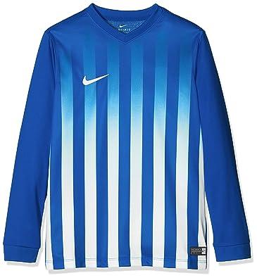 Nike LS YTH Striped Division II JSY - Camiseta para Niño  Amazon.es ... 6f84cf8d0ec35