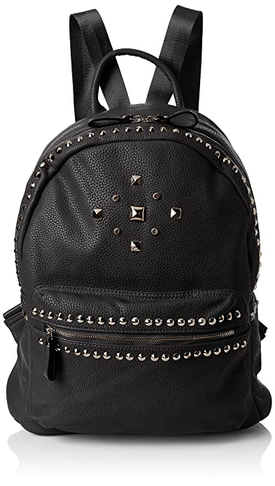 8633f829acb2a3 Gigi Studded Faux Leather Womens Backpack Bag Black: Amazon.co.uk ...