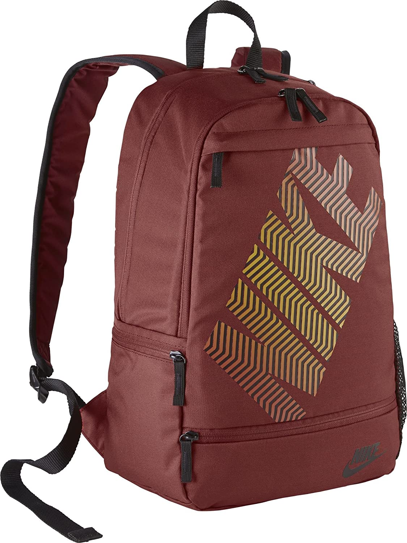 incidente Colonial tarde  Buy Nike 25 Ltrs Dark Cayenne/Dark Cayenne/Black School Backpack (BA4862-674)  at Amazon.in
