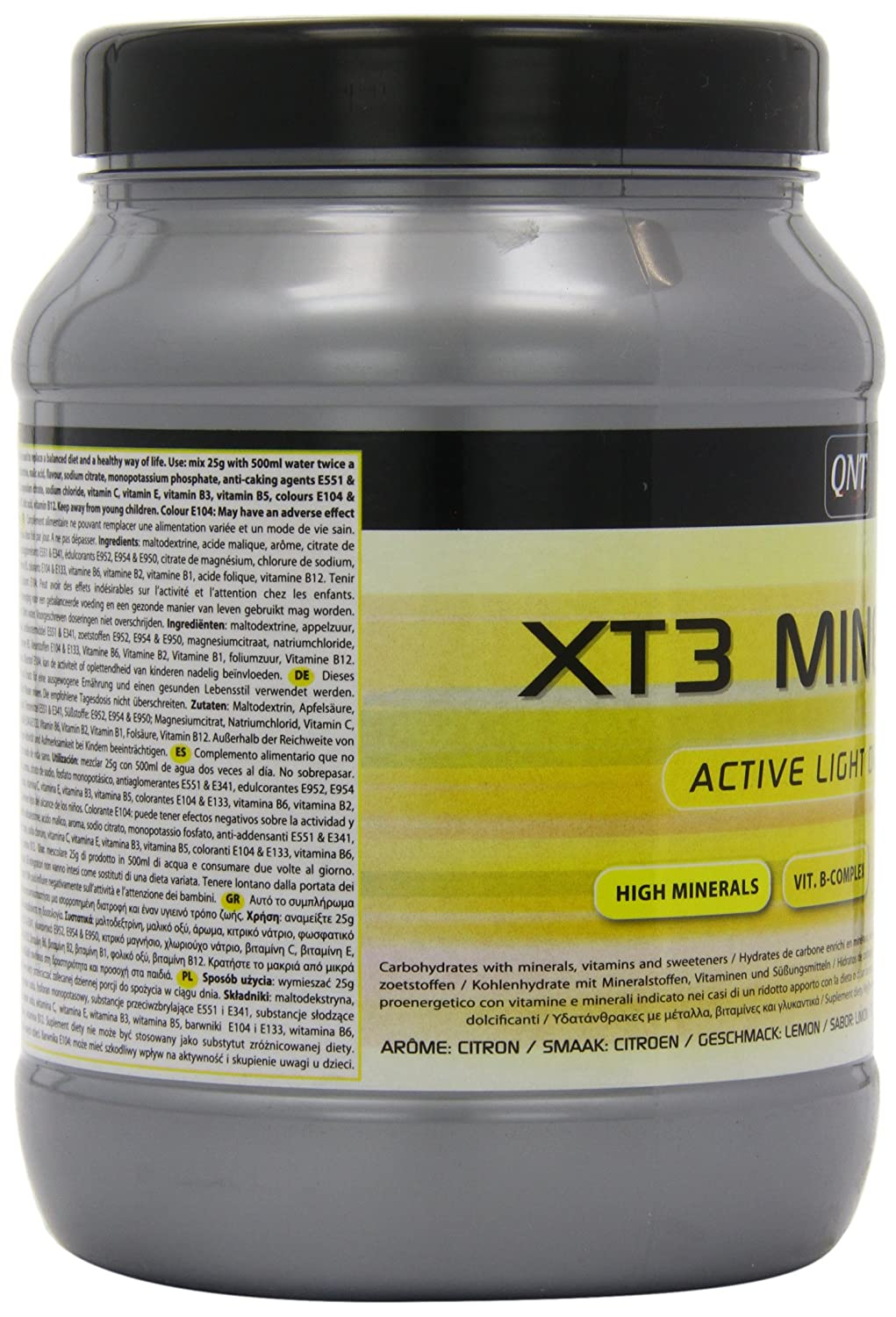 Amazon.com: QNT XT3 Mineral 400 g Lemon Vitamin and Mineral Drink Powder: Health & Personal Care