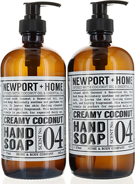 The Best Newport Home Hand Soap Creamy Coconut