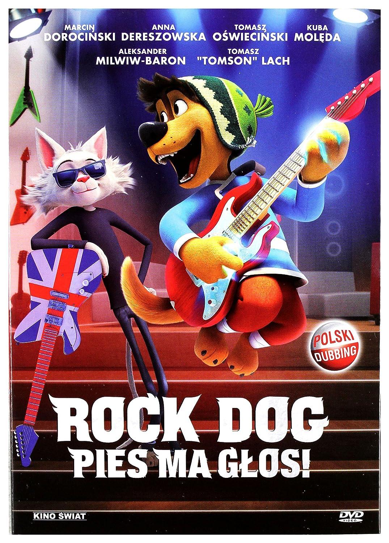 Rock Dog [DVD] (IMPORT) (No hay versión española): Amazon.es: Luke Wilson, Eddie Izzard, J.K. Simmons, Lewis Black, Kenan Thompson, Mae Whitman, Jorge Garcia, Matt Dillon, Sam Elliott, Will Finn, Ash Brannon: Cine