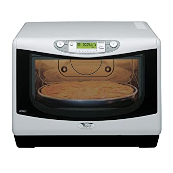 High Quality Whirlpool Jet Chef 31 Litre, Drop Down Door Microwave Grill With Crisp  Function, White