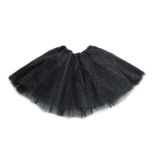 620ee49c17 Girls Anleolife 11 Black Tutu Skirt Girl Sequins Tutus Ballerina Birthday  Tutu Dresses Childrens Day Gift