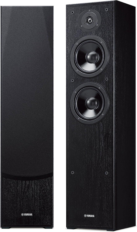 Yamaha NS-F51 - Altavoz estéreo de Suelo, Color Negro