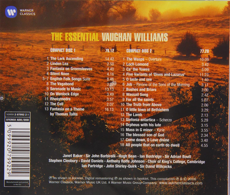 Essential Vaughan Williams : Ralph Vaughan Williams: Amazon