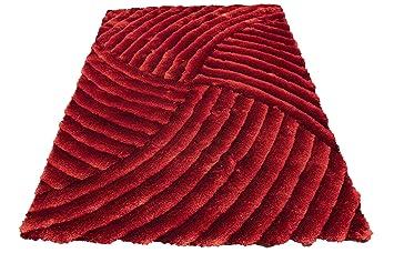 Amazon Com Deep Red Dark Red Burgundy Colorful Shag Shaggy Fluffy