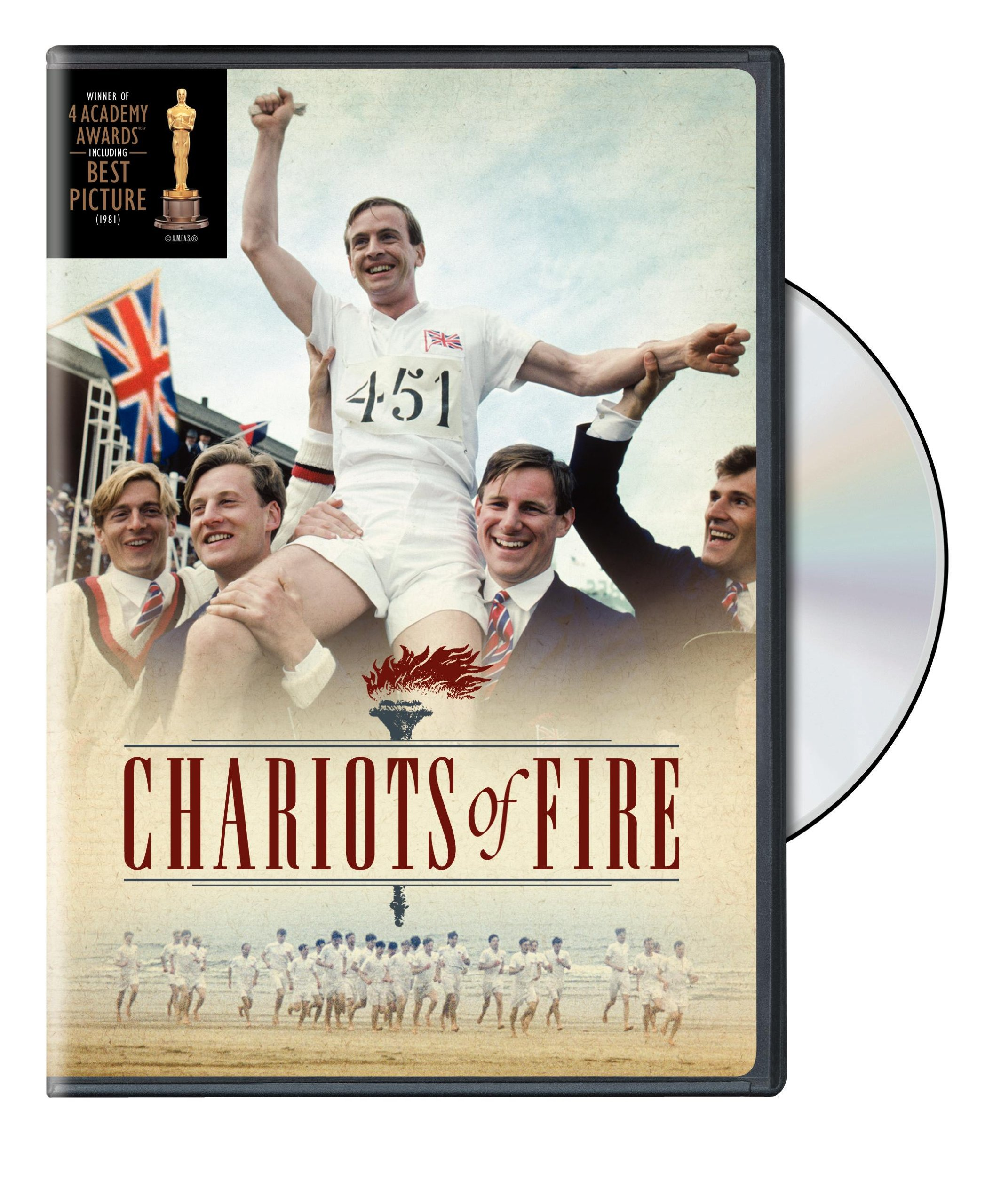 DVD : Chariots Of Fire [Full Frame] [Repackaged] [Eco Amaray] (Full Frame, , Dolby, Repackaged, Eco Amaray Case)