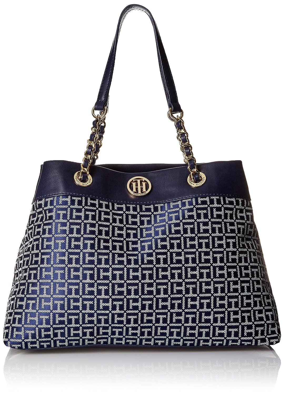 Tommy Hilfiger Lucie Jacquard Shopper Top Handle Bag
