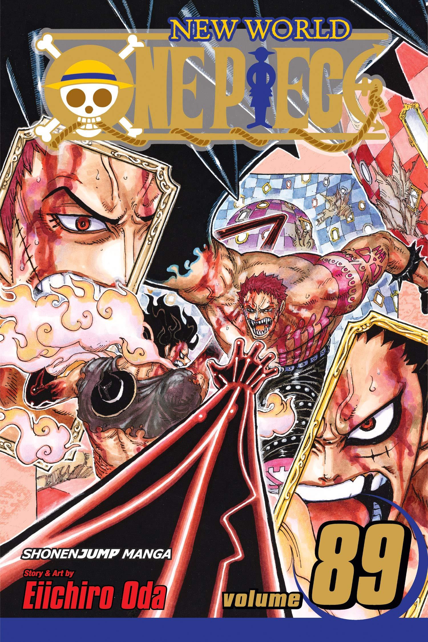 Amazon Com One Piece Vol 89 89 9781974705214 Oda Eiichiro