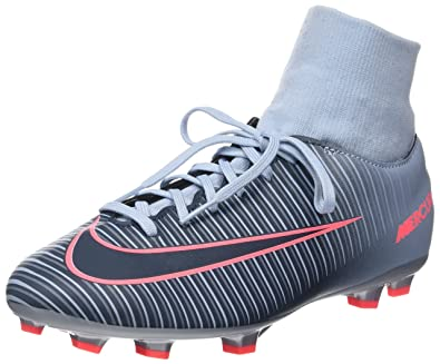 e1439d8f6966 Nike Youth Mercurial Victory VI DF FG Soccer Cleats (3.5)