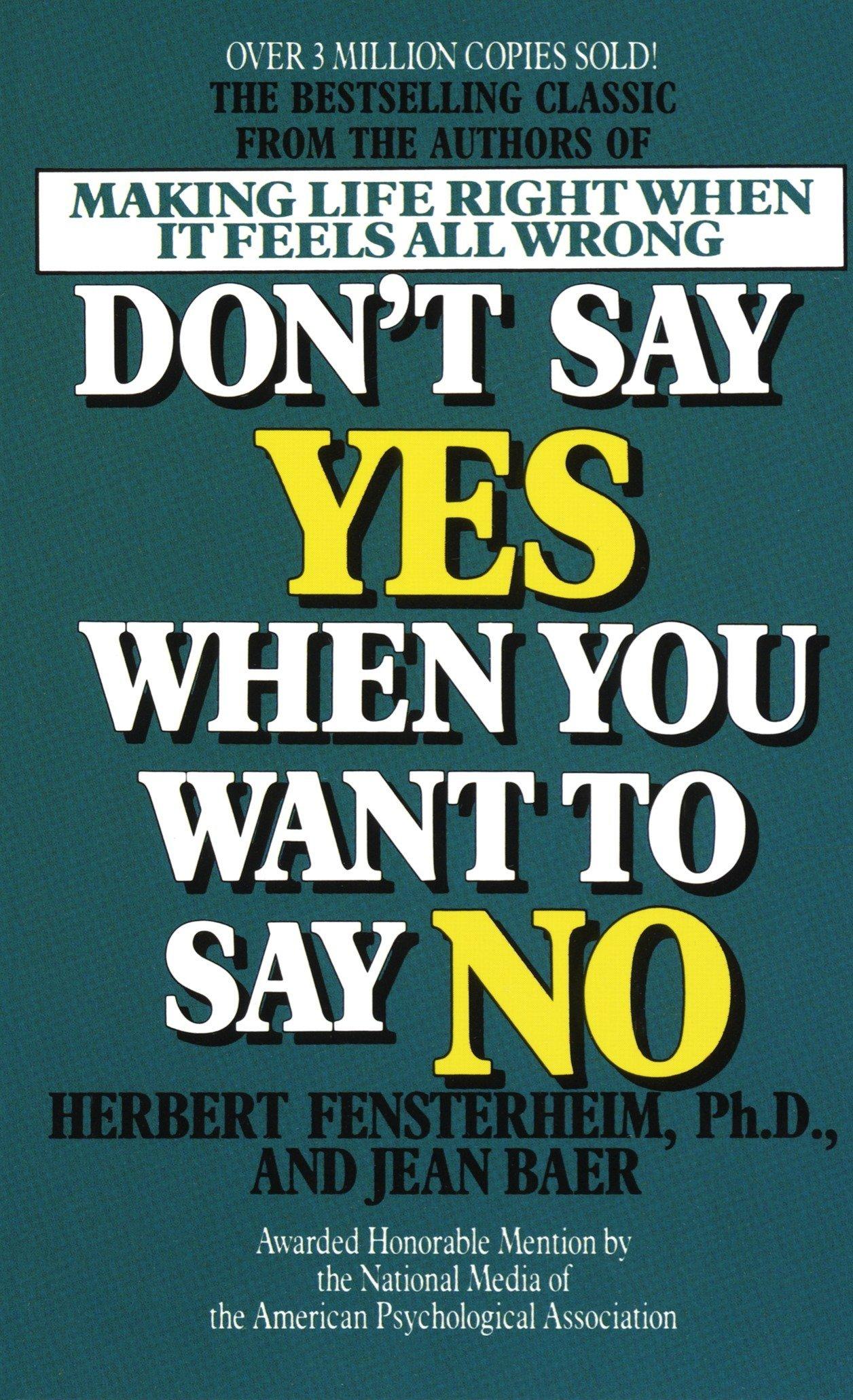 how do i say no