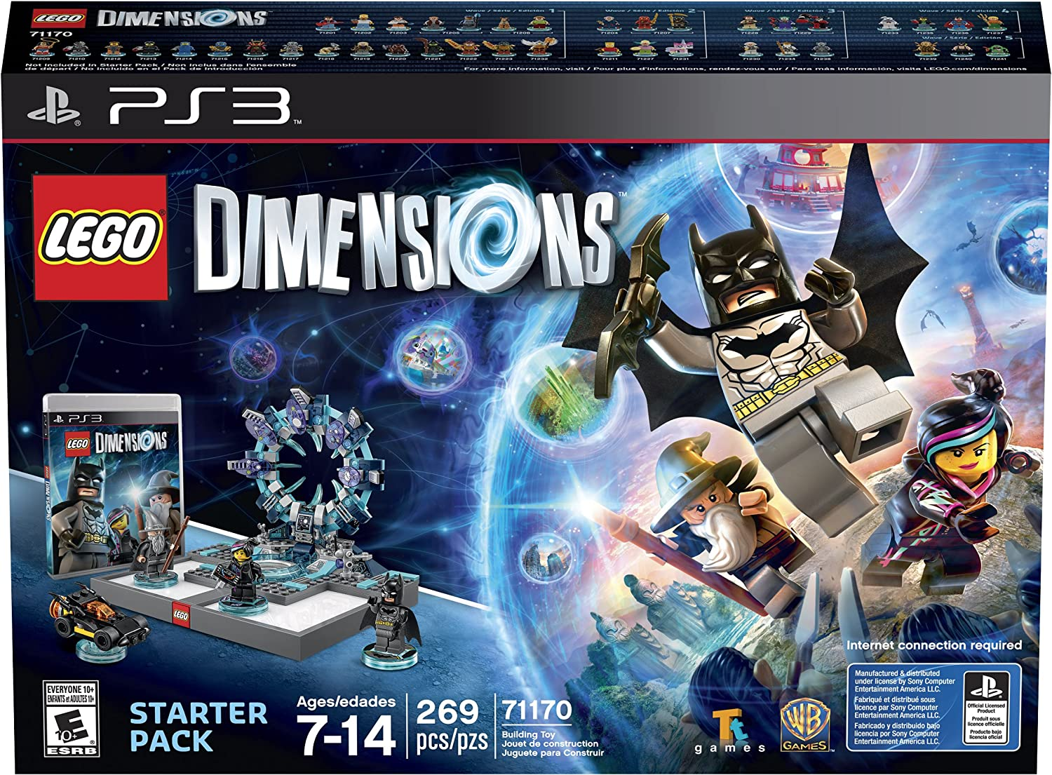 Amazon.com: LEGO Dimensions Starter Pack - PlayStation 3 ...