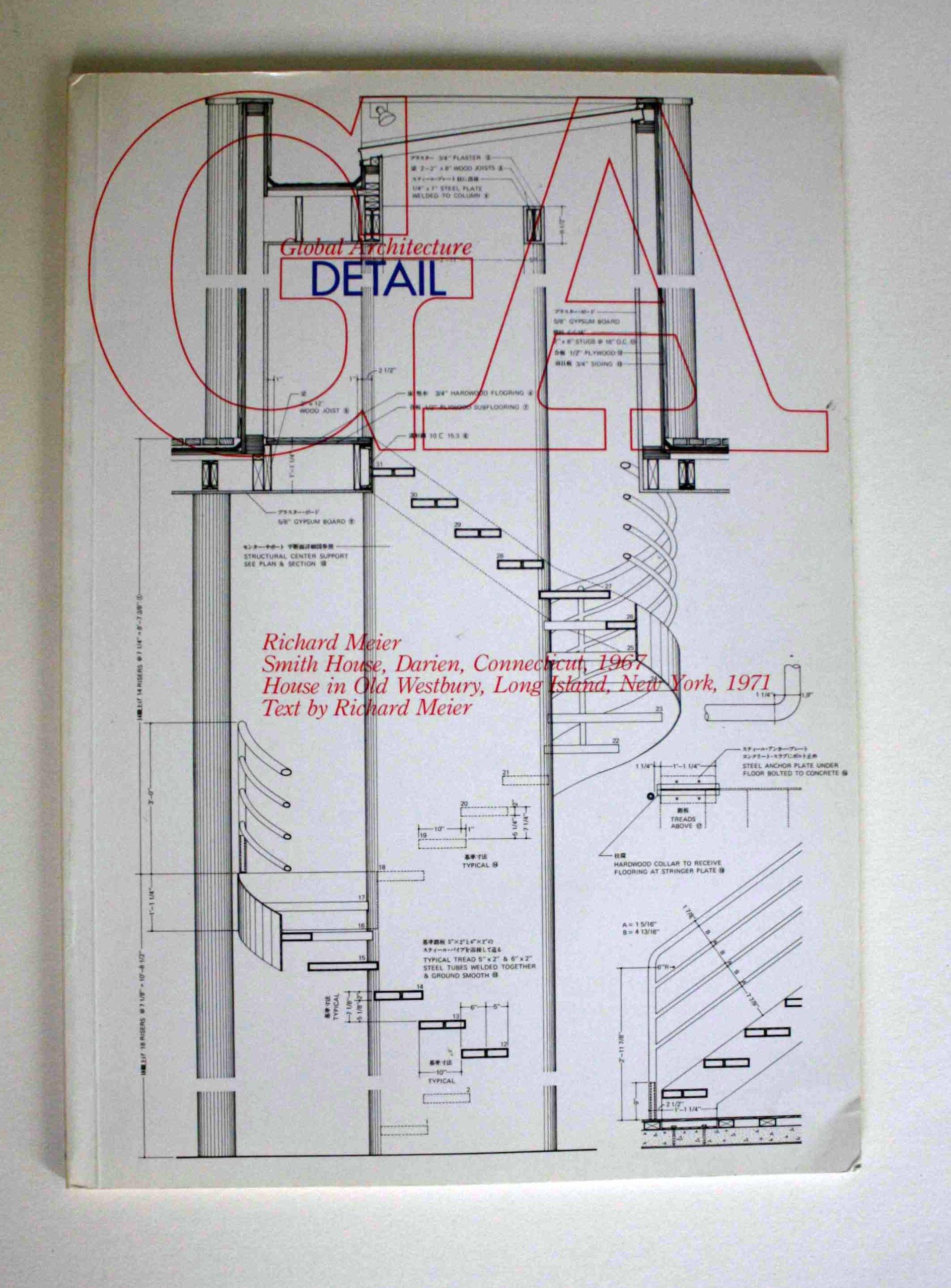 Global Architecture 2 Richard Meier Smith House Darien – Richard Meier Smith House Floor Plans