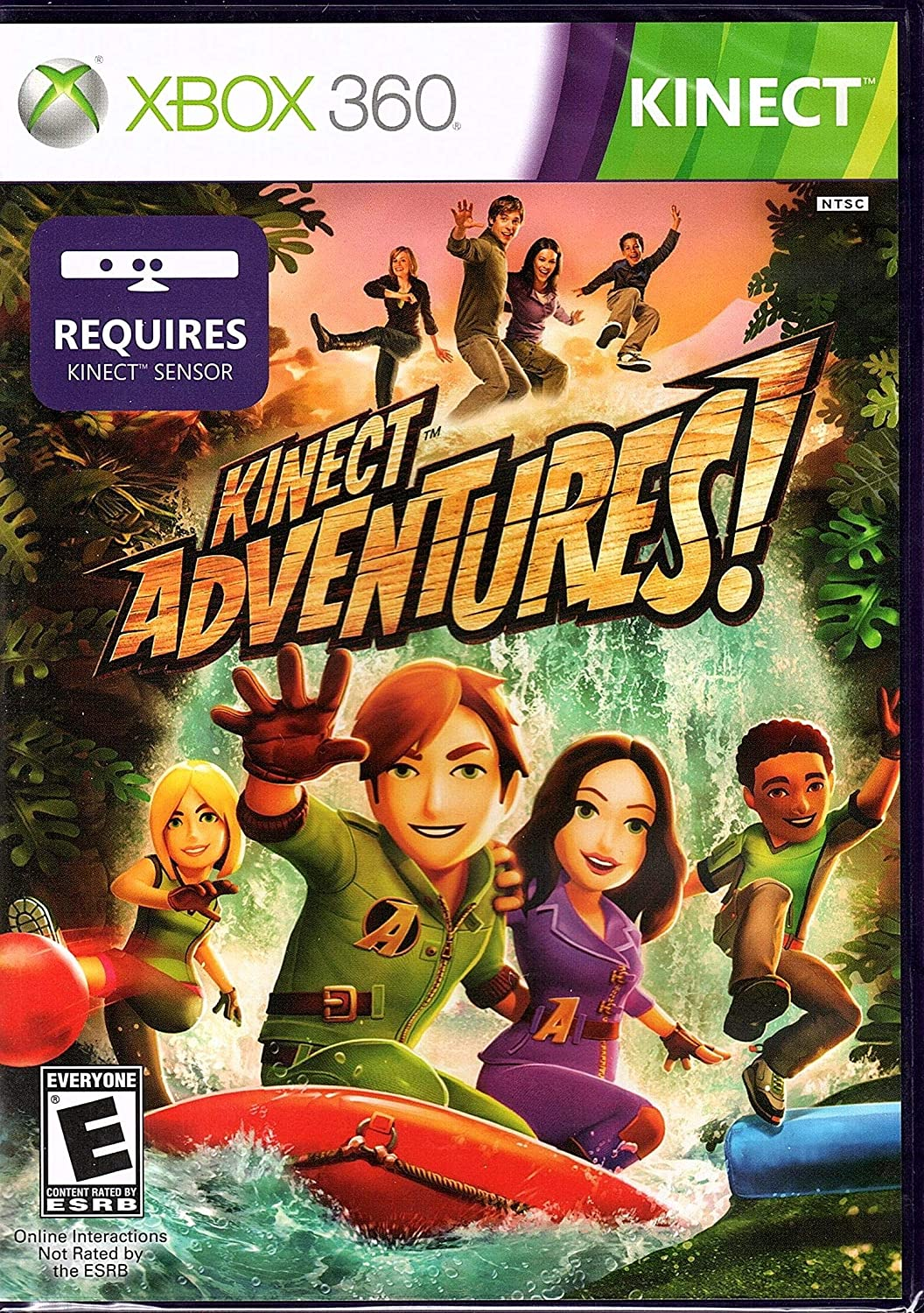 Buy Kinect Adventures Xbox 360 Online At Low Prices In India Microsoft Video Games Amazon In