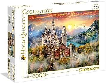 Clementoni Neuschwanstein Puzzle 1500-Piece Modello 31925