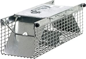 Havahart 1025 Small 2-Door Live Animal Trap – Ideal for catching squirrels, chipmunks, rats, weasels