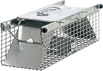 Havahart 1025 Small 2-Door Live Animal Trap – Ideal for catching squirrels, chipmunks