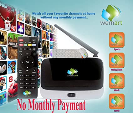 Tv Box With ALL YOUR FAVOURITE INDIAN CHANNELS  FREE