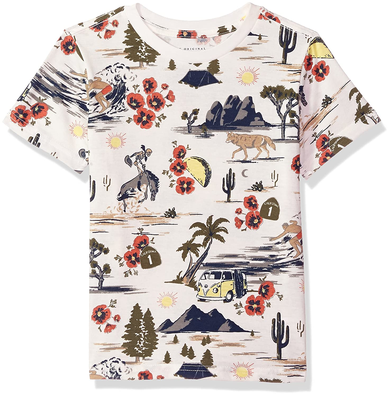 Lucky Brand Boys' Short Sleeve Graphic Tee Shirt