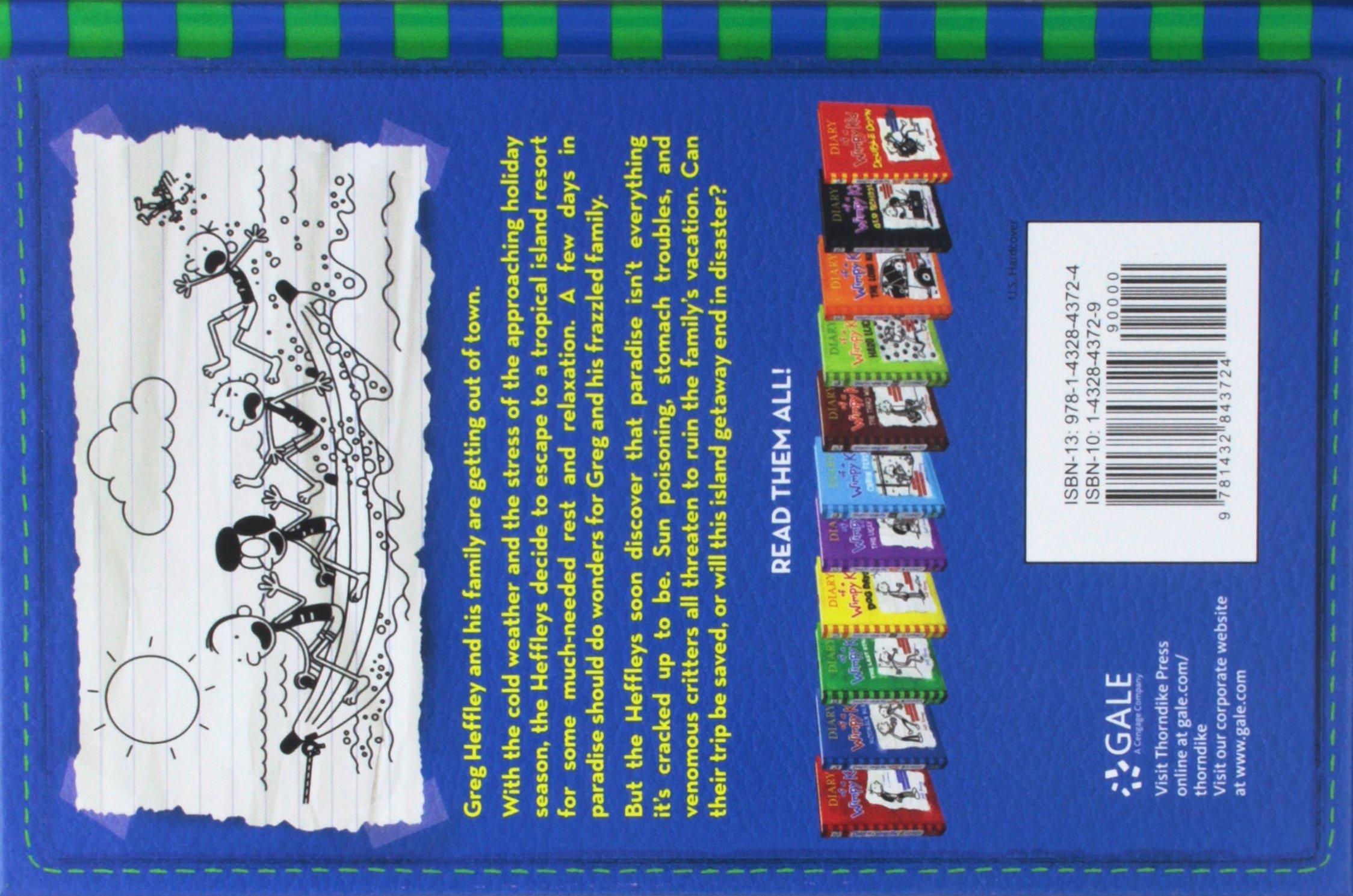 The Getaway Diary Of A Wimpy Kid Kinney Jeff 9781432843724 Amazon Com Books