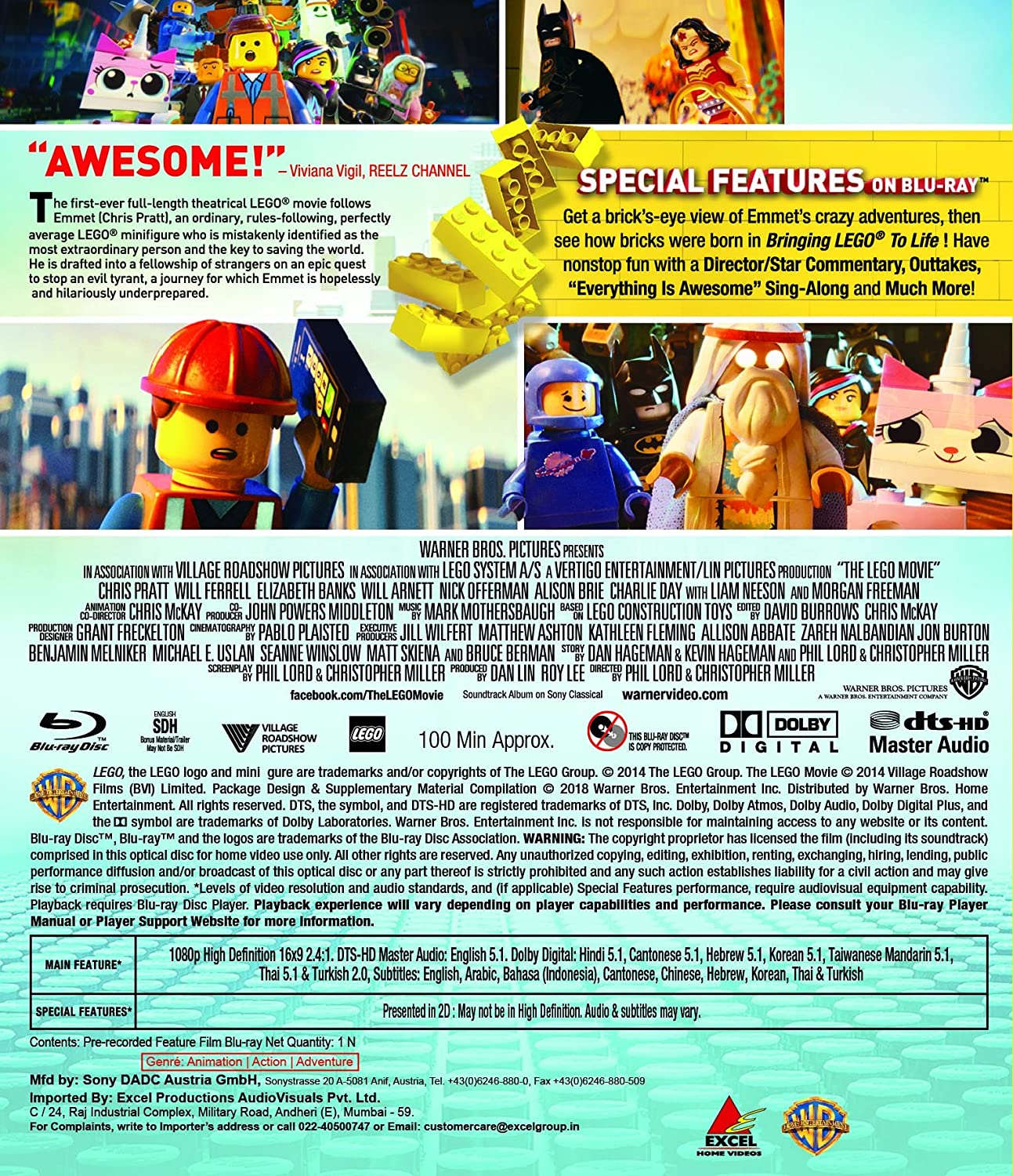 Amazon.in: Buy The LEGO Movie DVD, Blu-ray Online at Best Prices in ...