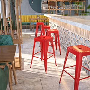 Flash Furniture Commercial Grade 30
