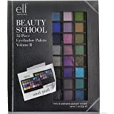 e.l.f Cosmetics Beauty School 32 Piece Eye Shadow Palette Bright Edition, Vol. 2