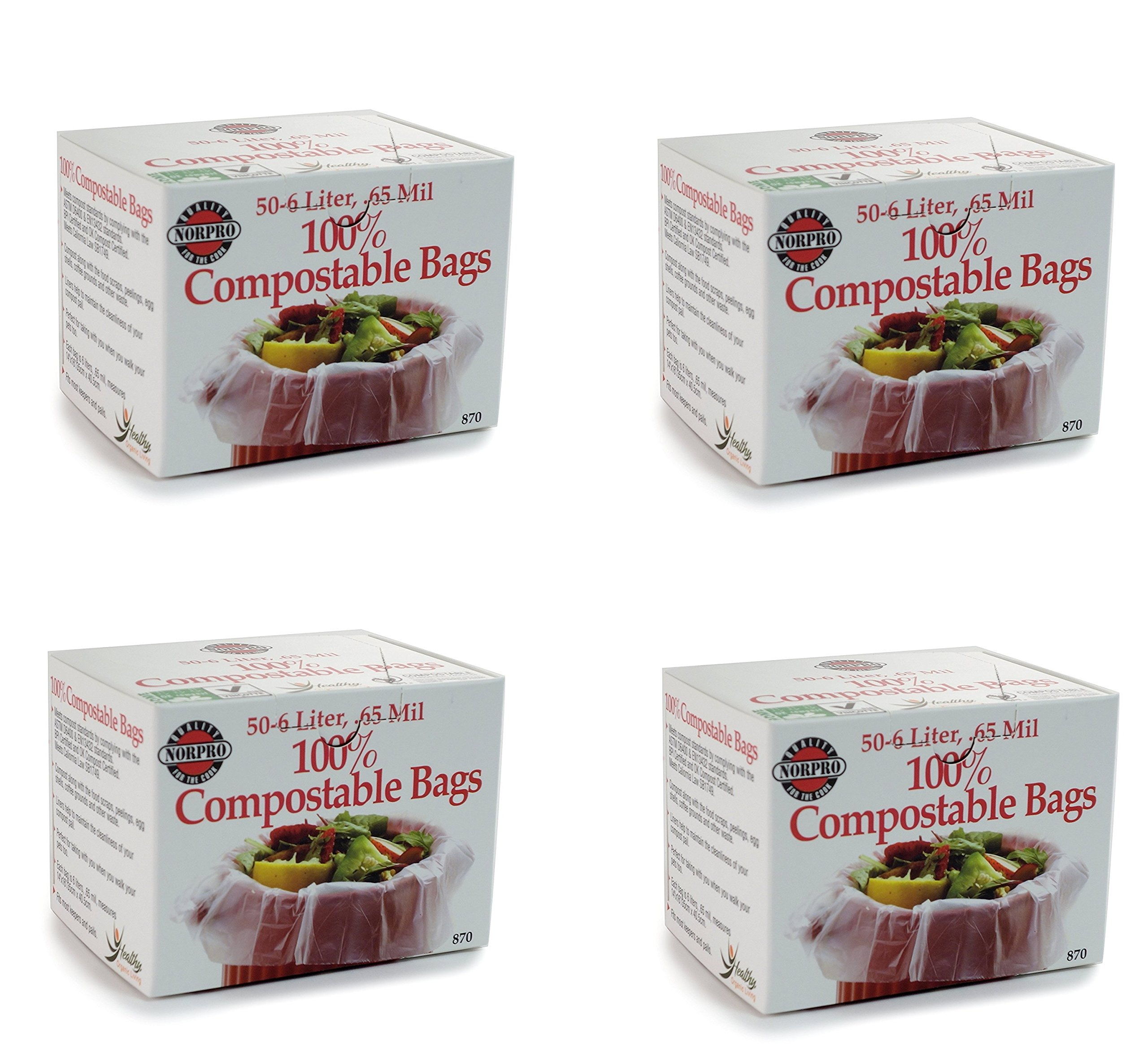 Norpro 100% Compostable Bags (4)
