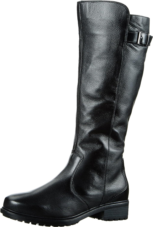 ARA Damen Kansas-st Reitstiefel Schwarz Schwarz 61