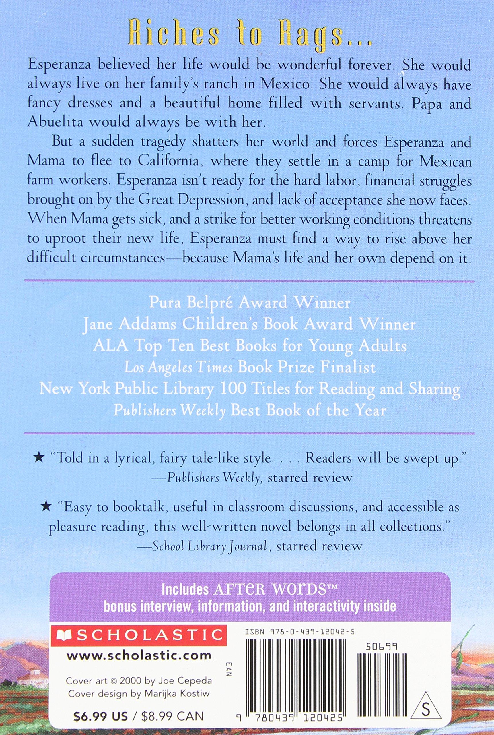 Esperanza Rising (McDougal Littell Library): Pam Muñoz Ryan ...