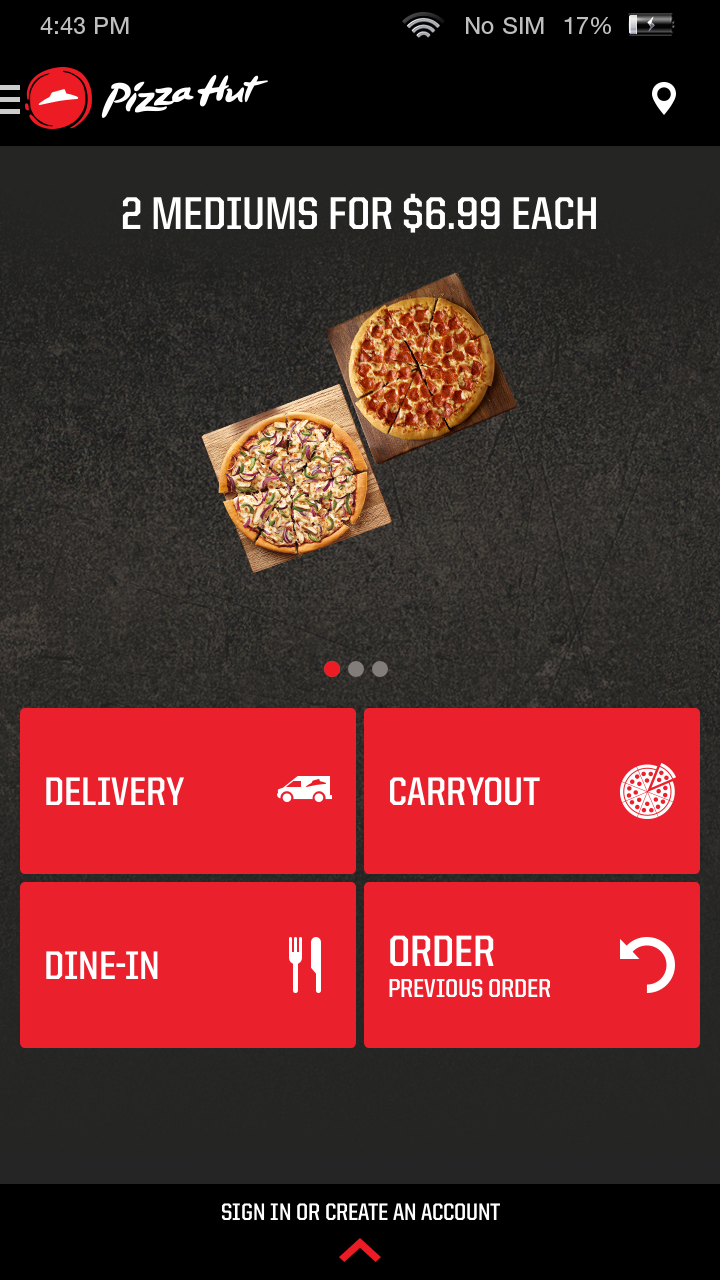 amazon com pizza hut appstore for android
