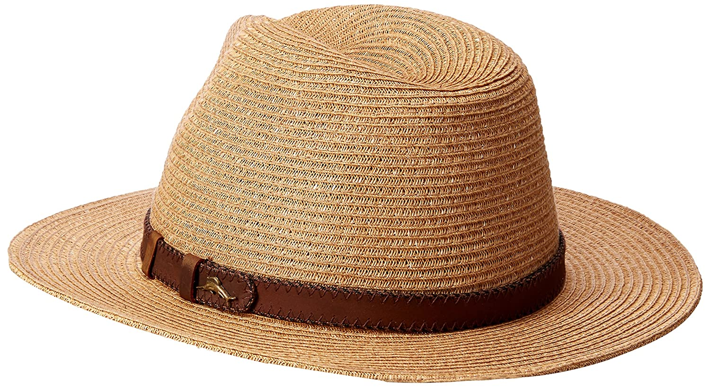 e26abf30b74 Tommy Bahama Men s Fine Braid Safari Hat