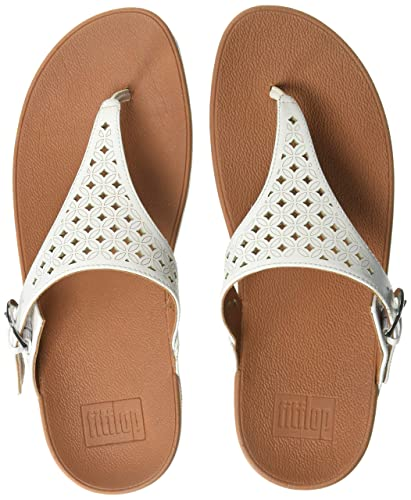 518dfd613457 FitFlop Women s SKINNY TOE POST - LATTICED Sandal