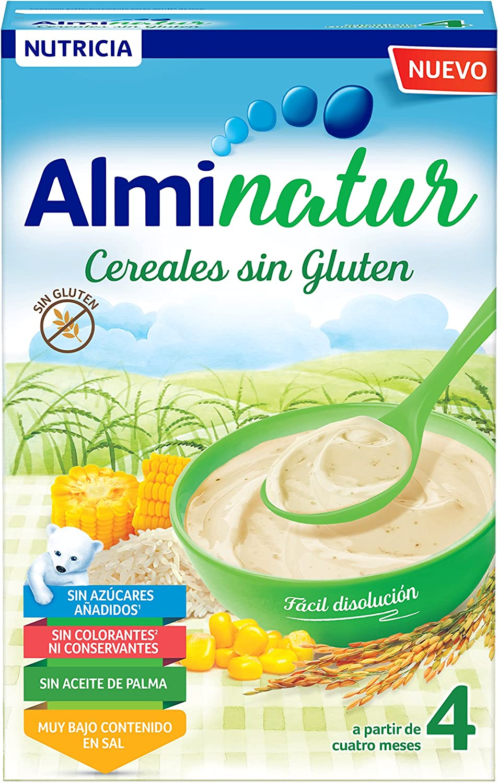 Papilla de cereales sin gluten ALMINATUR (250 gr)