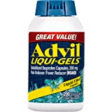 Advil Pain Reliever/Fever Reducer, 200mg Solubilized Ibuprofen (200-Count Liqui-Gel Capsules)