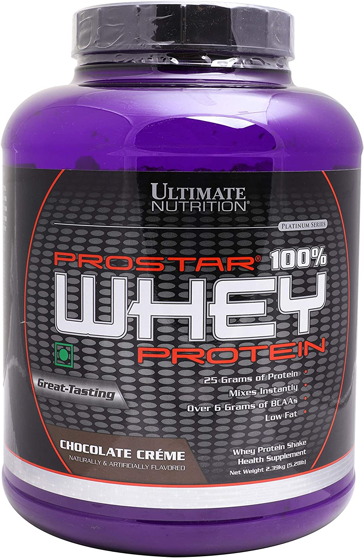 ULTIMATE NUTRITION PROSTAR WHEY, CHOCOLATE, 5.2 Tub