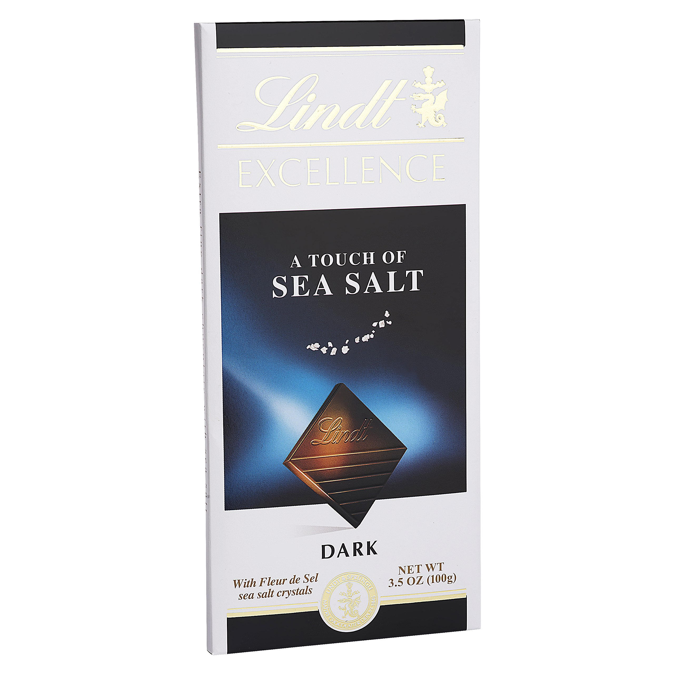 Lindt Excellence Sea Salt Bar, 3.5 oz