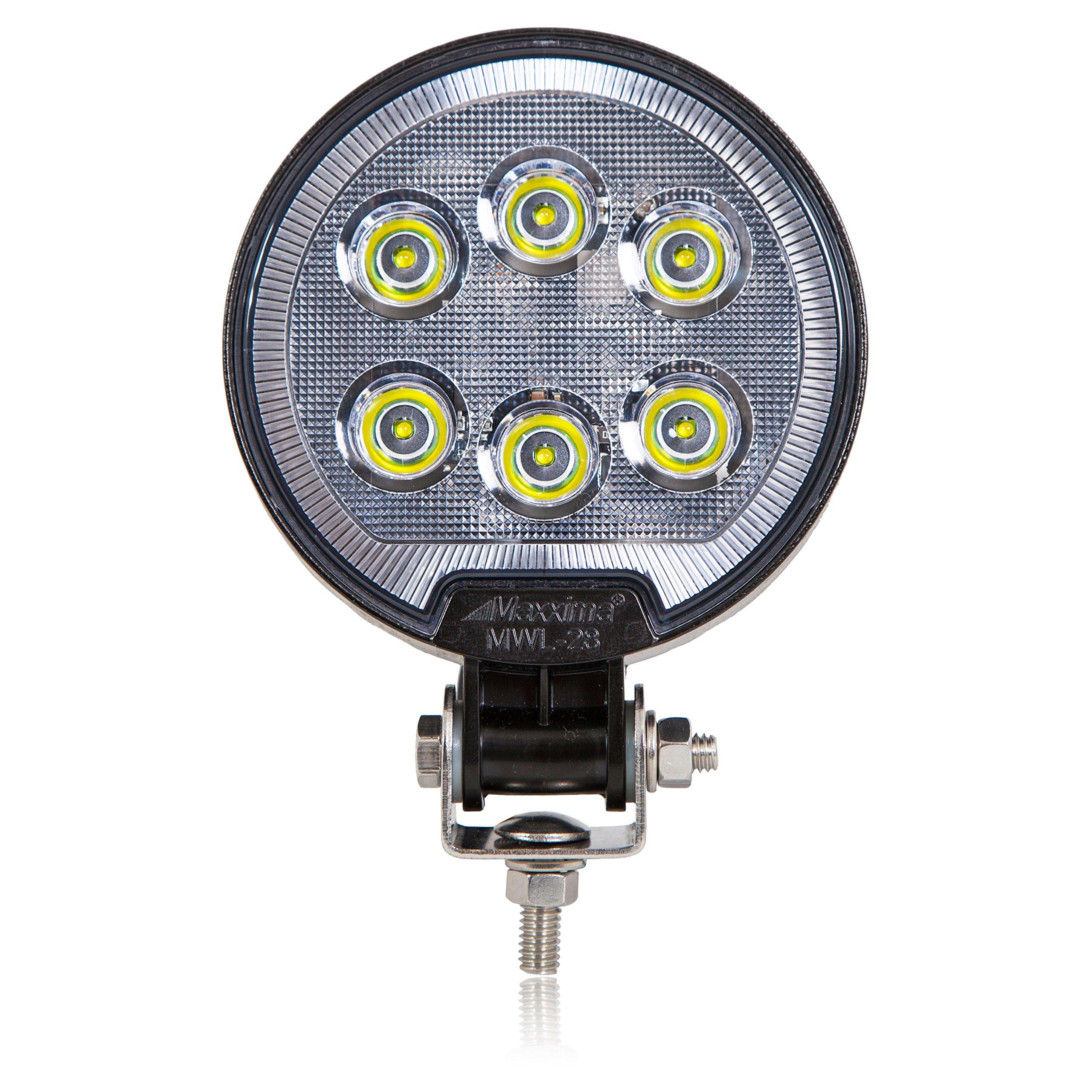 Maxxima MWL-28 6 LED Round Work Light 1,200 Lumens by Maxxima