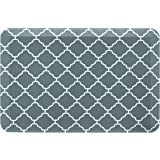 """AmazonBasics Anti-Fatigue Standing Comfort Mat for Home Kitchen and Office - 20"""" x 30"""", Teal Pattern"""