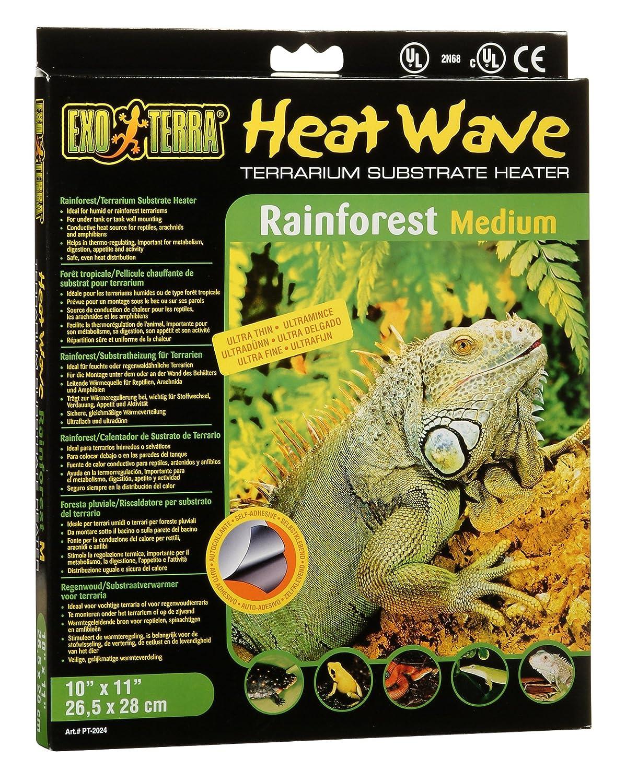 Exo terra Tapis chauffant pour Reptiles Heatwave Plaq Chauffe Tropi 8 W Exoterra PT2024