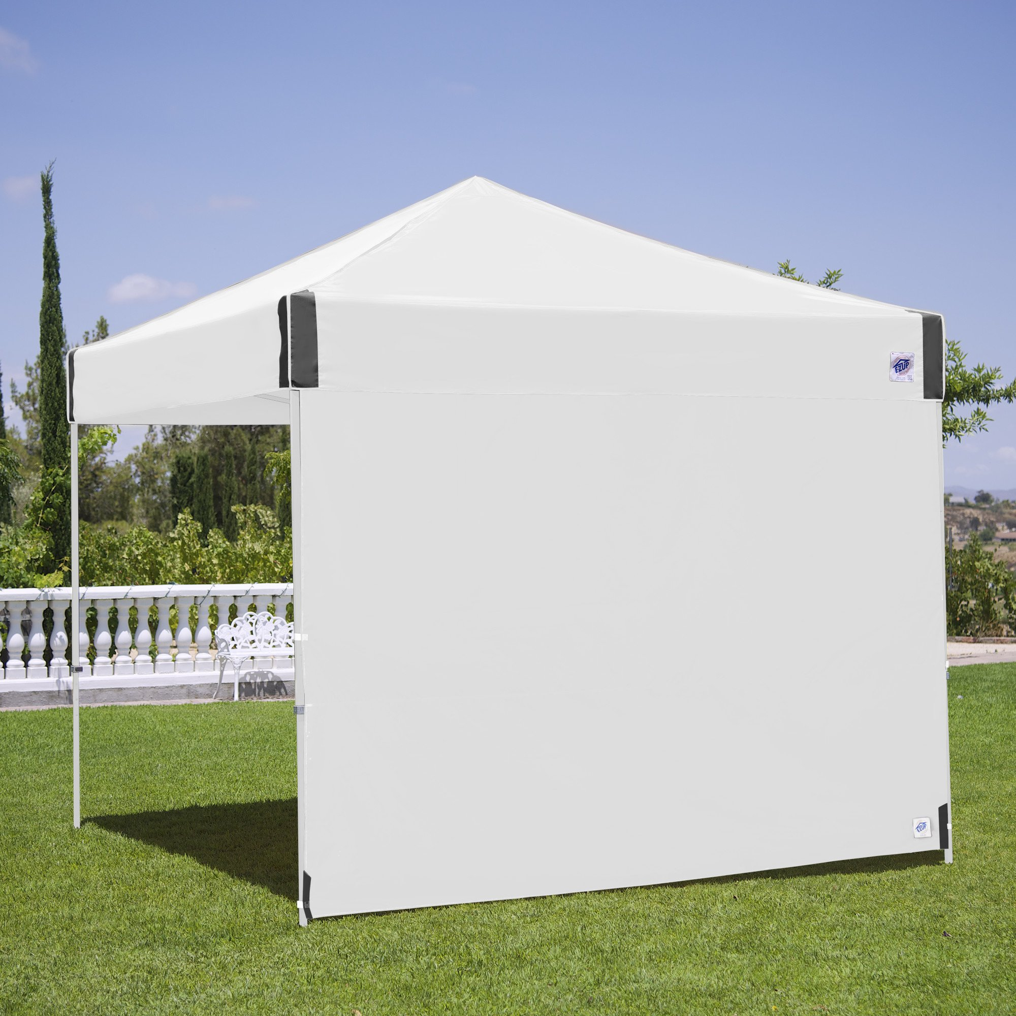 E-Z UP Recreational Sidewall – White - Fits Straight Leg 10 Instant Shelters
