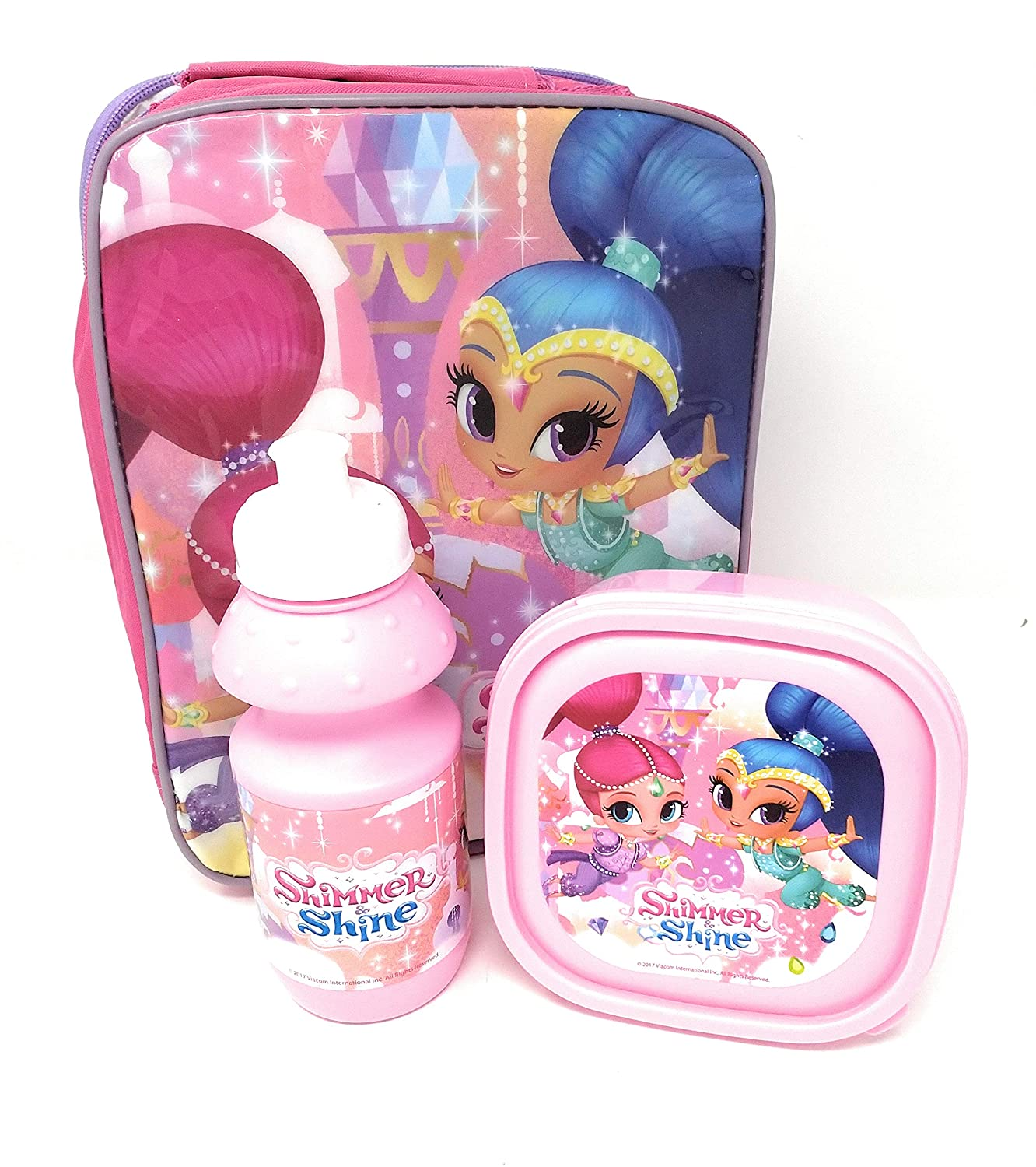 SHIMMER AND SHINE 3PCS LUNCH BAG, PICNIC BAG Nickelodeon Shimmer and Shine