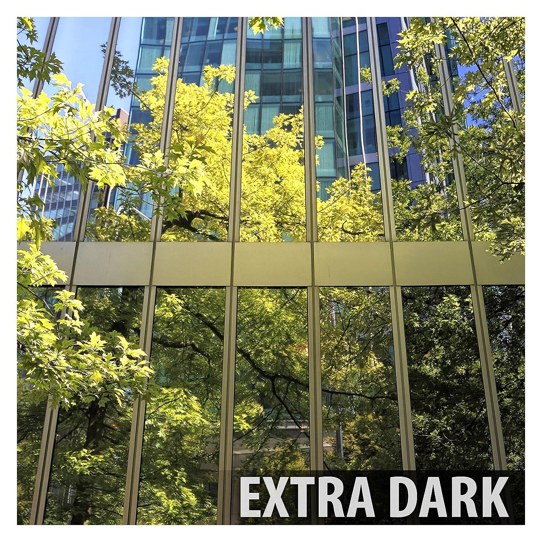 BDF S05 Heat Control Daytime Privacy One Way Mirror Window Film Silver 5-30in X 12ft Buydecorativefilm