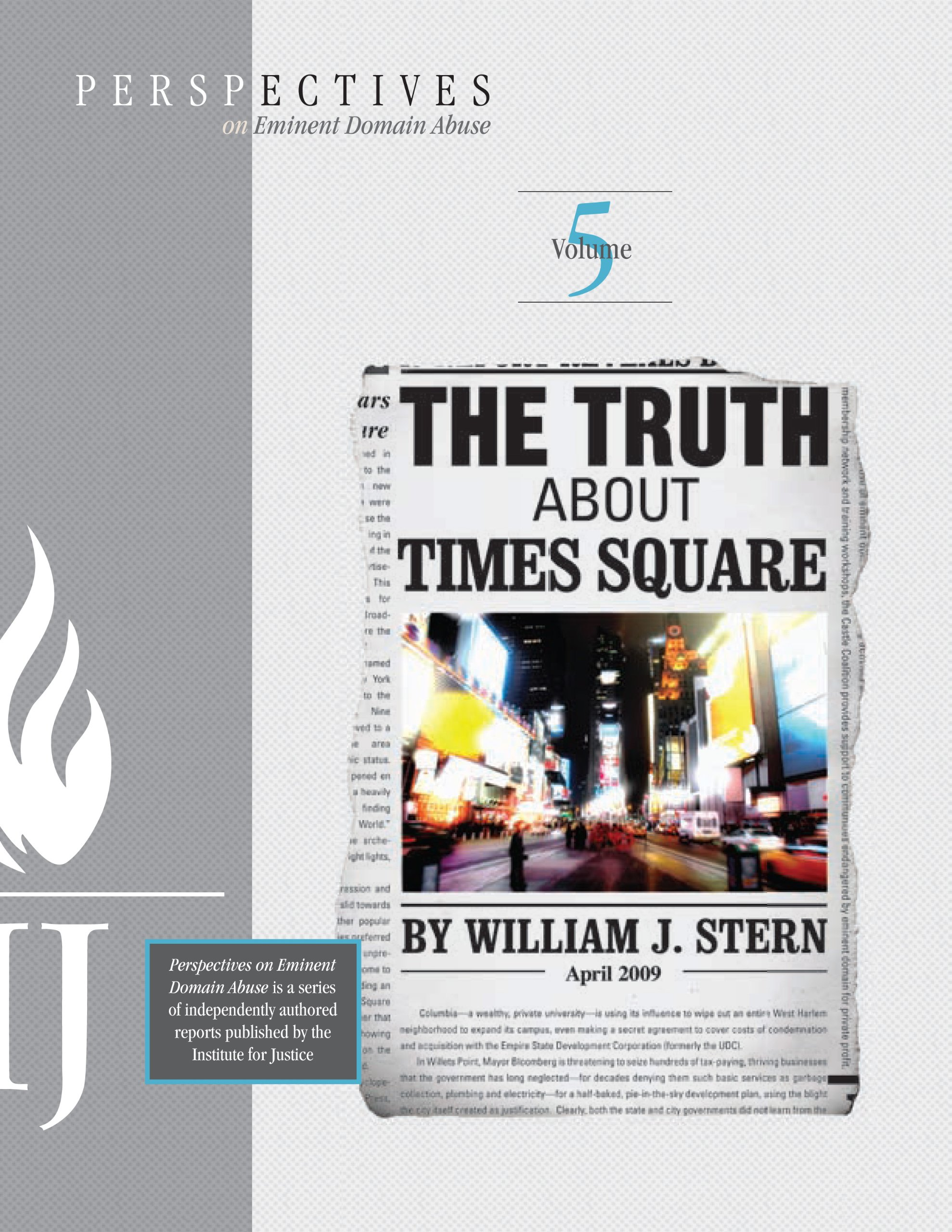 The Truth About Times Square  Perspectives On Eminent Domain Abuse Book 5   English Edition