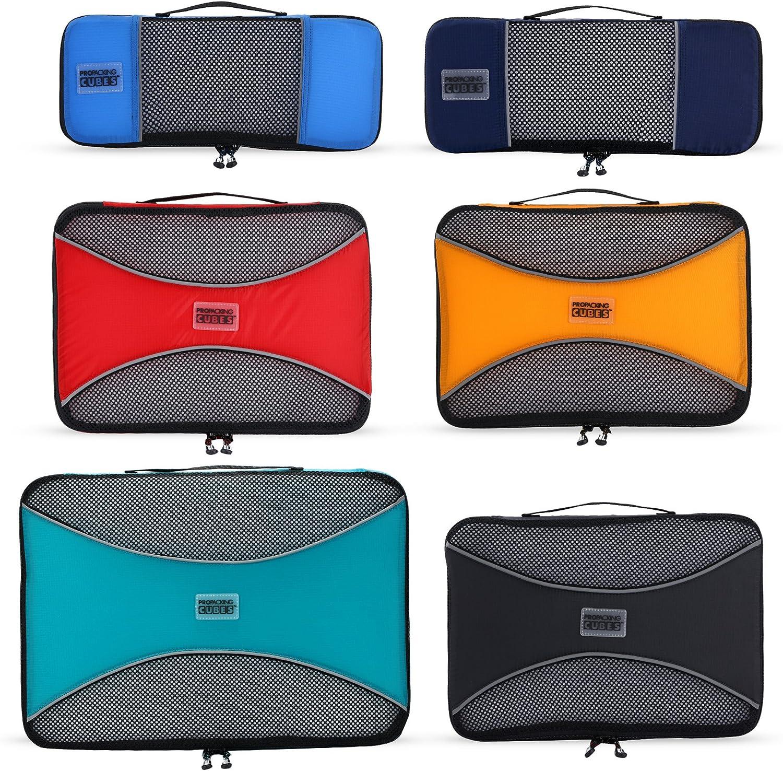 Cubos de Embalaje Pro para Viajes - Bolsas Organizadoras de Equipaje, Accesorios - Ultraligero