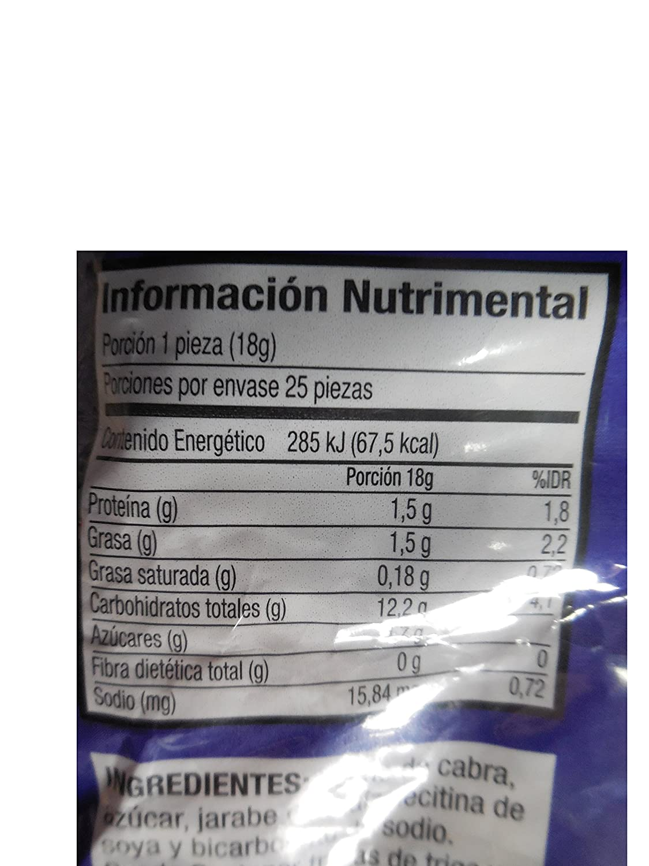 Amazon.com : Las Sevillanas Goat milk soft taffy candy natilla de leche : Grocery & Gourmet Food
