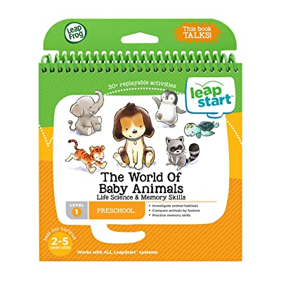 LeapFrog LeapStart Level 1 Preschool The World of Baby Animals Life Science & Memory Skills: Toys & Games